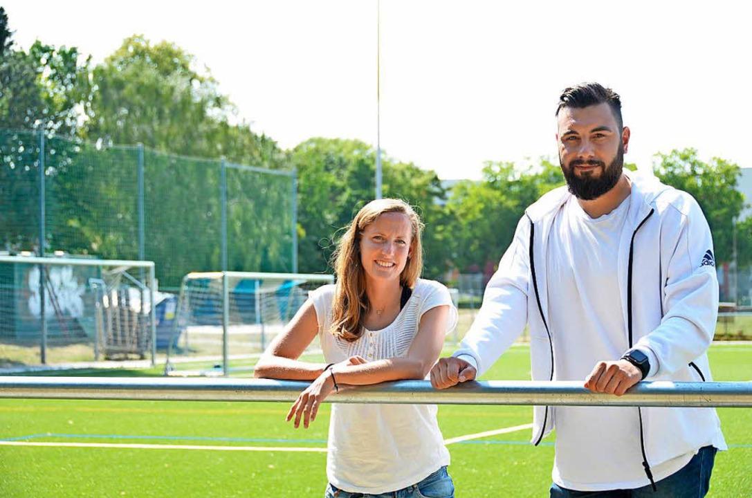 Spielführerin Elisa Emminger und Train... besonnen und zuversichtlich entgegen.  | Foto: Moritz Lehmann