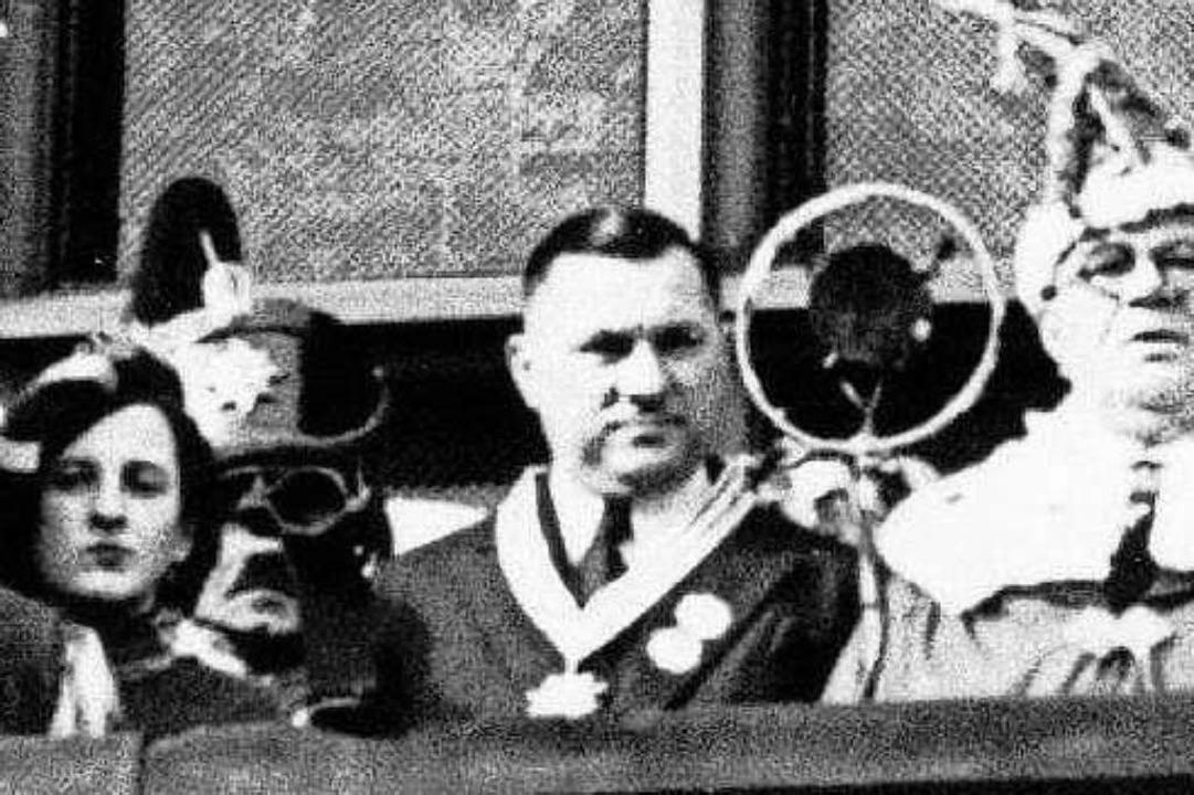 NS-Oberbürgermeister Franz Kerber.  | Foto: privat