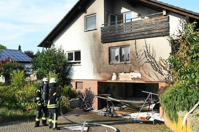 Streit ist der Grund für einen Brand in Mahlberg