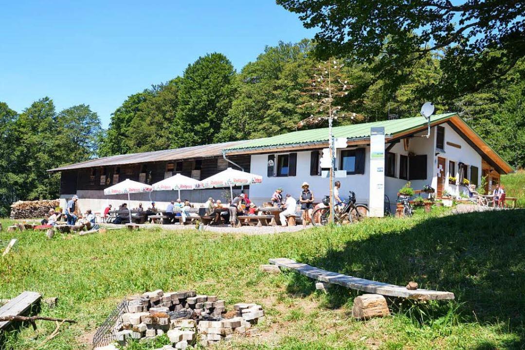 Liegt idyllisch am Kandel: Die Gummenhütte.  | Foto: Promo