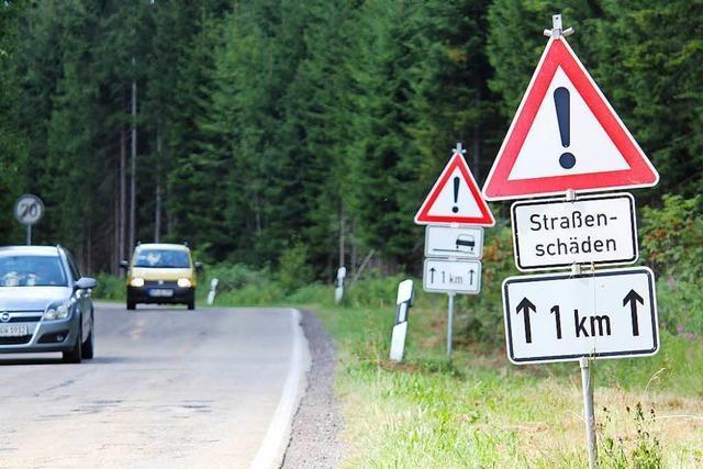 Kreis saniert Straße ohne Landesmittel – bis zu 700.000 Euro fehlen
