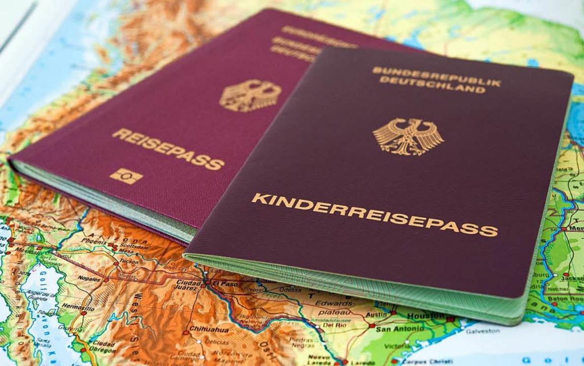 Um in alle Welt zu reisen, braucht es ..., dass ihre Dokumente abgelaufen sind.    Foto: dpa-tmn