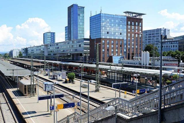Zugverkehr am Freiburger Hauptbahnhof war wegen Notarzteinsatz unterbrochen