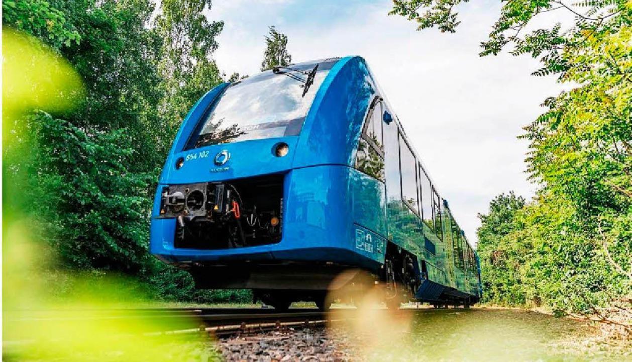 Der erste zugelassene Wasserstoffzug von Alstom  | Foto: Alstomgroup