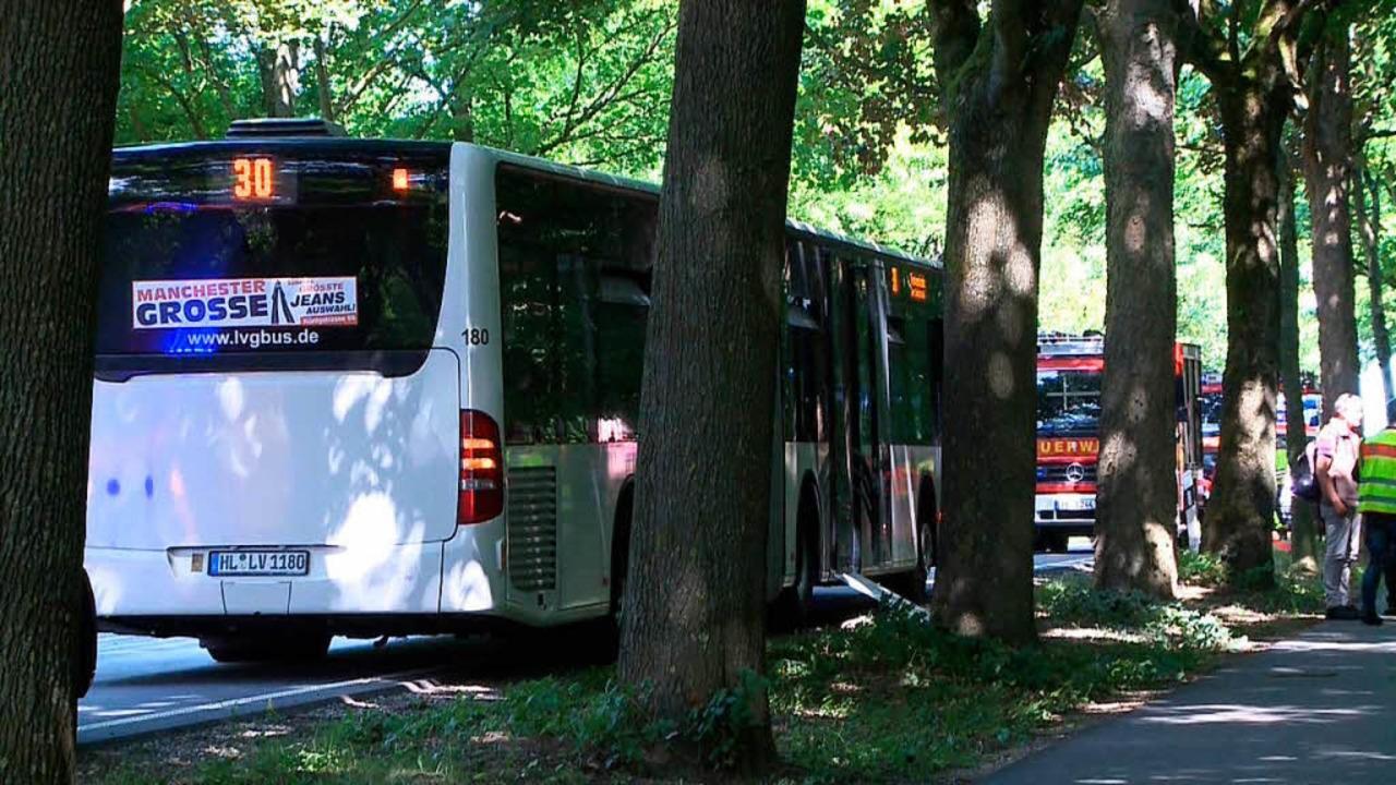 Angriff im Linienbus    Foto: dpa