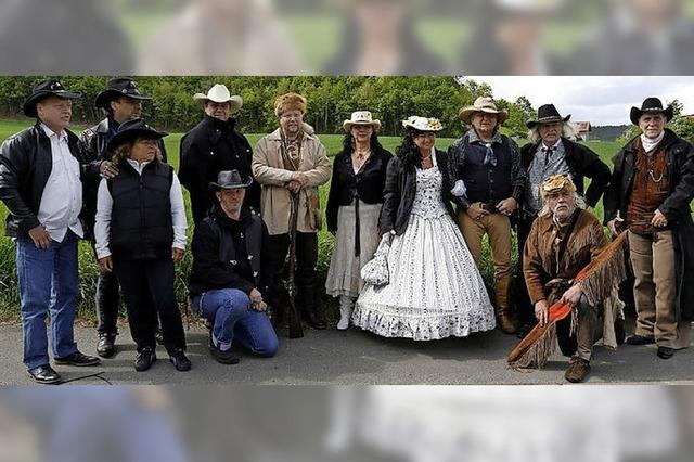 Linus Colorado bei den Breisgau Cowboys in Kenzingen