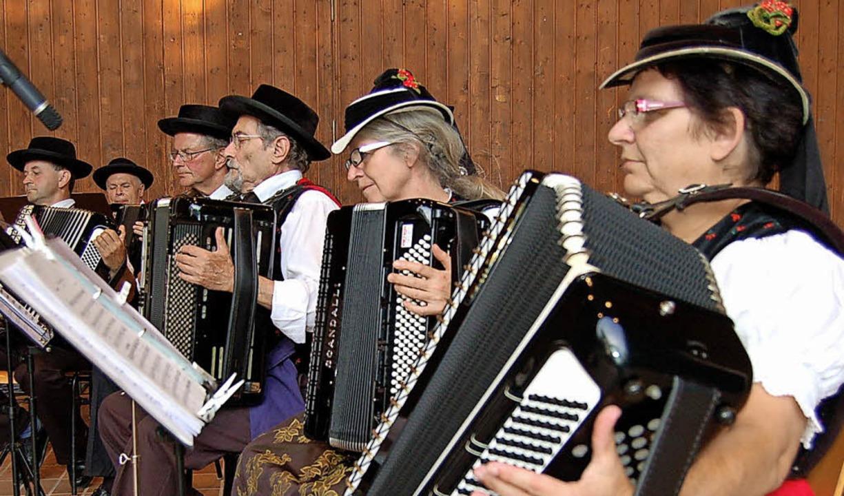 Unterhaltungsmusik ist das Metier der Spielgruppe.   | Foto: Ringwald