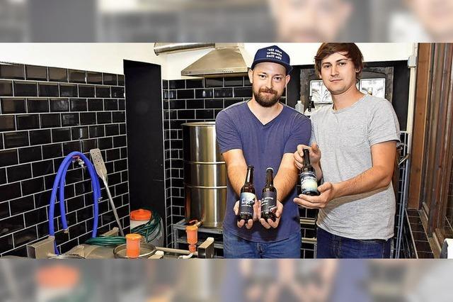 Hopfige Konkurrenz für Steinacker Wein