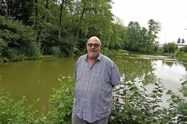 Grüne Oase der Schweizer Fischerzunft