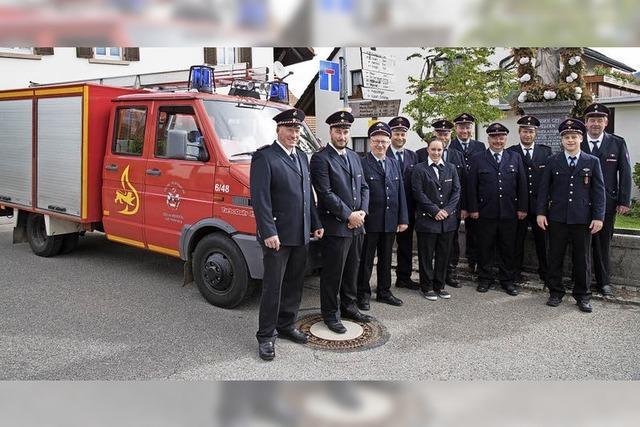 Feuerwehr stellt neues Auto vor