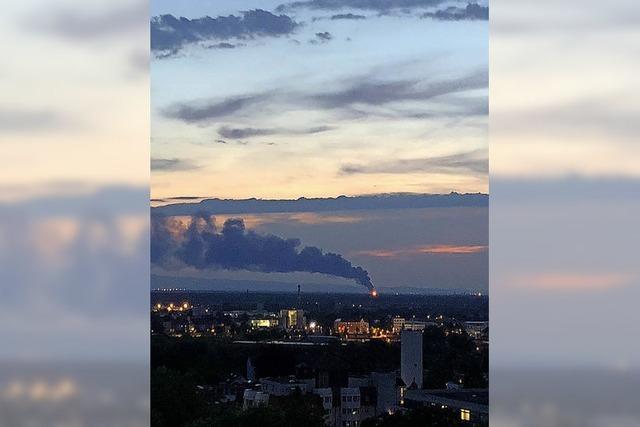 Großbrand in Straßburg