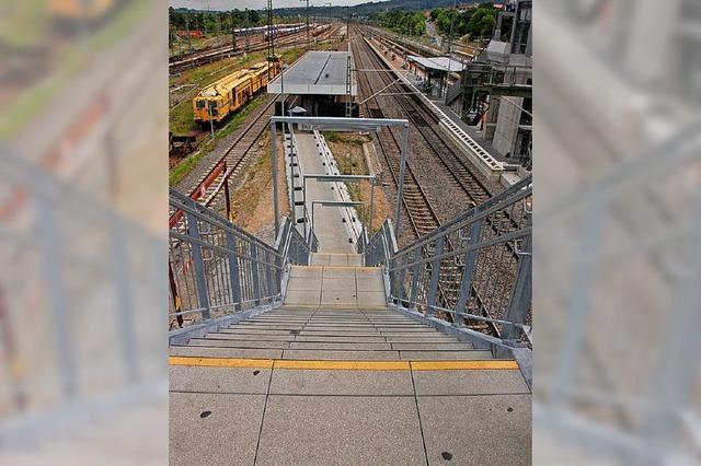 Züge nach Basel halten noch bis 2024 an Gleis 8
