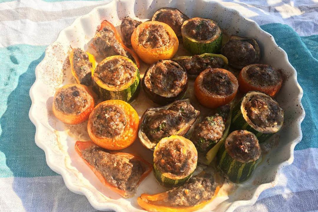 Gefülltes Gemüse auf weltmeisterliche Art  | Foto: stechl