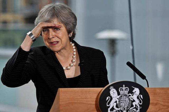 May lehnt EU-Vorschlag ab