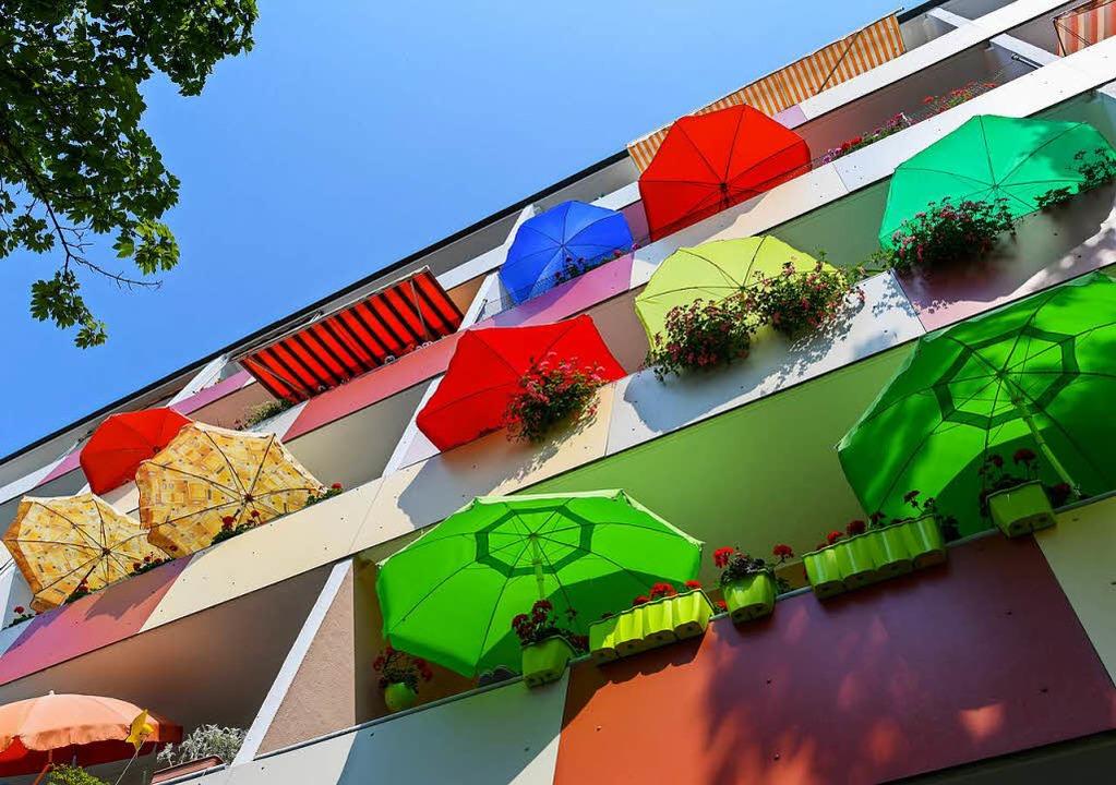 Auch ein Urlaubsparadies: Balkonien   | Foto: dpa
