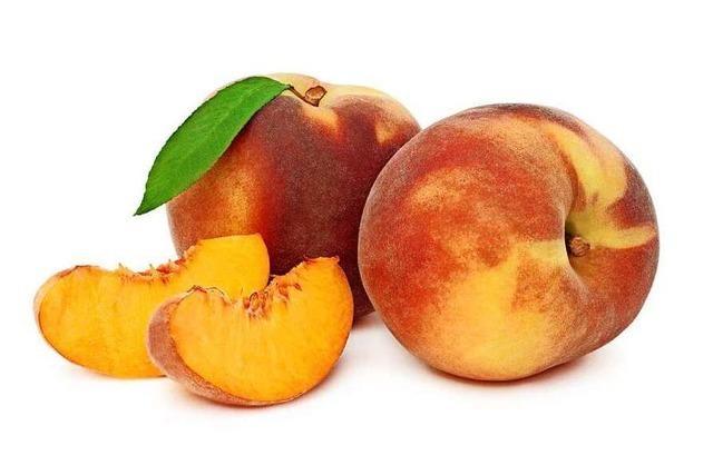 Der Pfirsich ist ein saftiger Faltenfeind