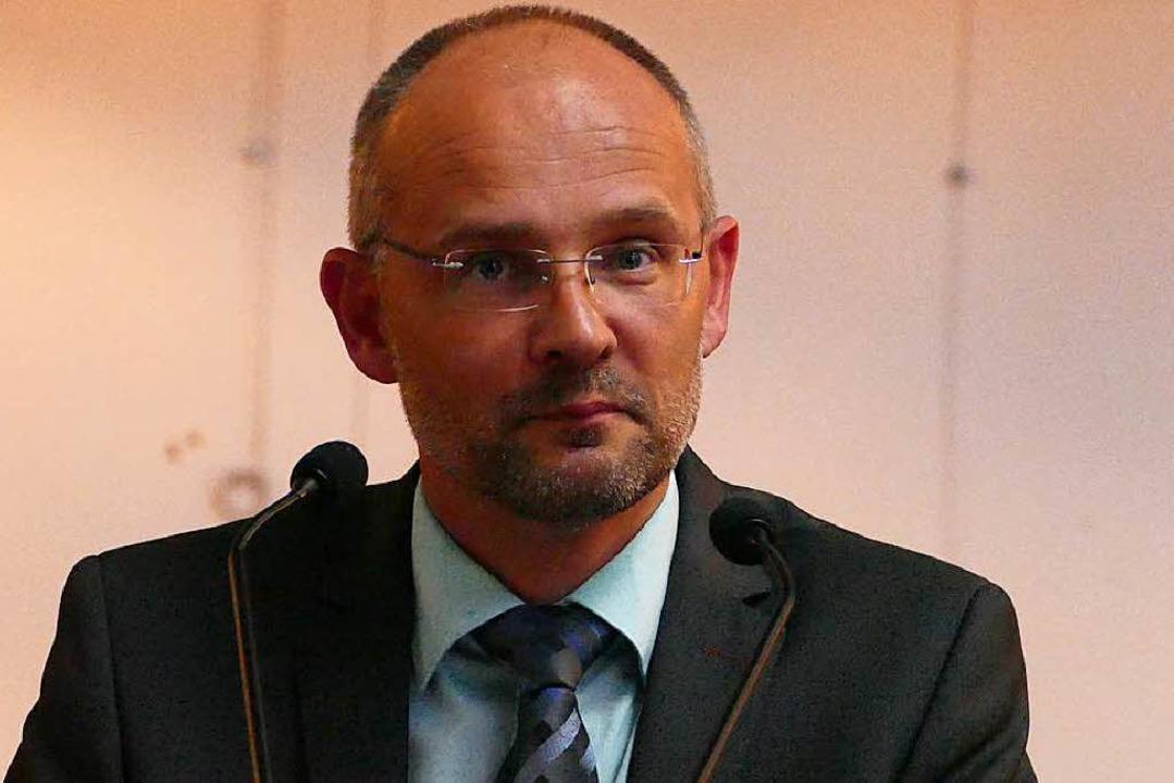 Wird neuer Schulleiter:  Bernd Rieckmann.  | Foto: Jannik Jürgens