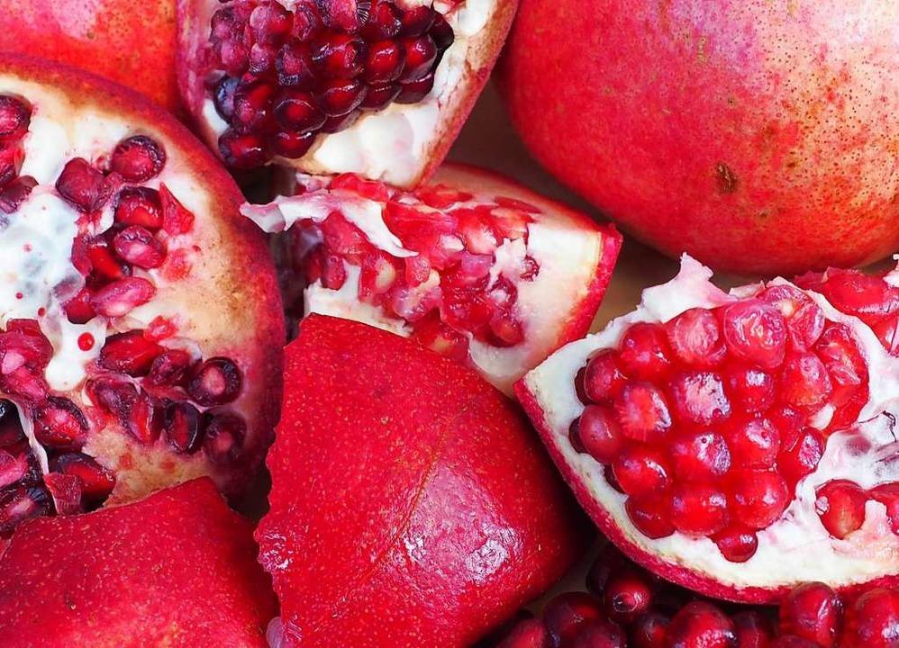 Granatapfelkerne  sorgen für einen Hauch von Orient.  | Foto:  Der Sonntag Verlags GmbH