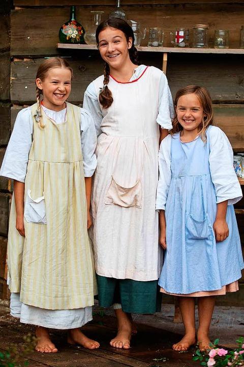 Das Stück bietet auch Rollen für Kinder.  | Foto: Wolfgang Scheu