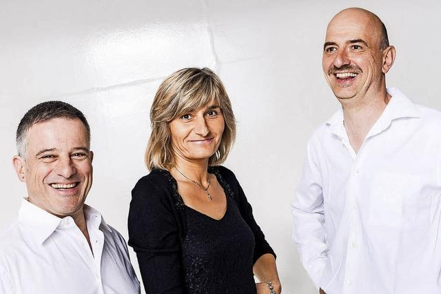 Caprice Akustik Trio C.A.T. spilen Musik zum Tanzen, Mitsingen und Zuhören