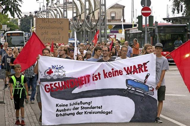 Demo gegen Klinikschließungen in der Ortenau