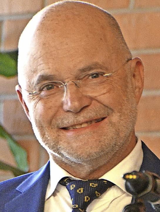 Heinz Bölle geht in Ruhestand.  | Foto: Susanne Müller