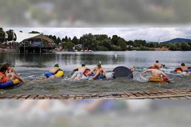 Seefest, Agrikulturfestival, Stadtlesen und Bächleboot-Rennen boten am Wochenende jede Menge Abwechslung