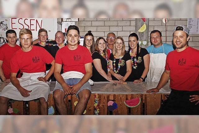 Statt Buurefasnacht ein zünftiges Sommerfest gefeiert