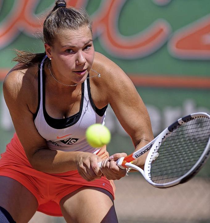 Samira Eckert hat keine leichte Saison hinter sich.     Foto: Sebastian Köhli