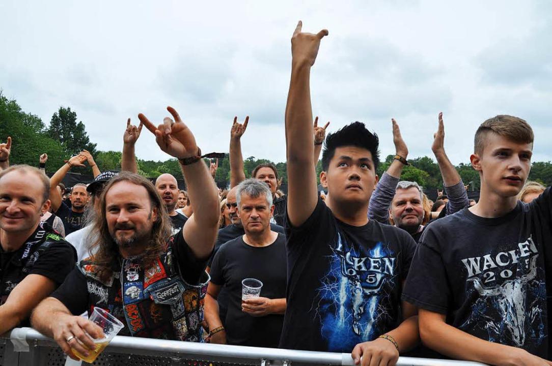 Baden in Blut 2018: Die Metal-Fans erlebten ein perfektes Open-Air.  | Foto: Nicolai Kapitz