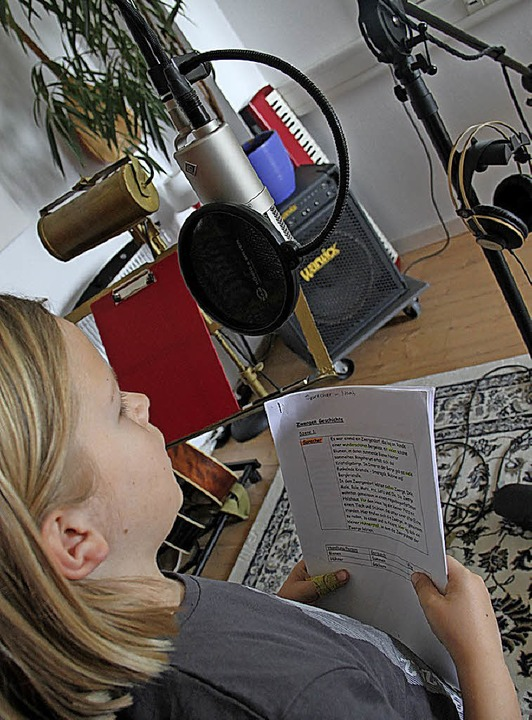 Geschichten aus dem Schulleben enthält die Schul-CD.   | Foto: Schule
