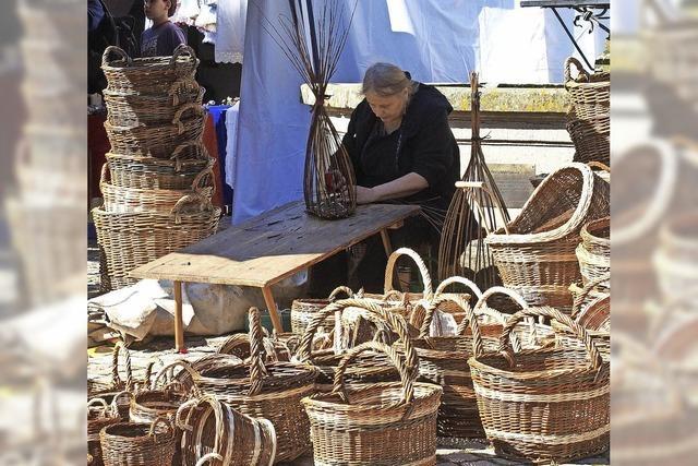 Historischer Markttag in St. Peter