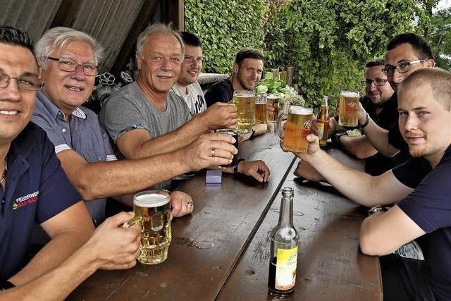 Organisatoren sind mit dem Dorffest zufrieden