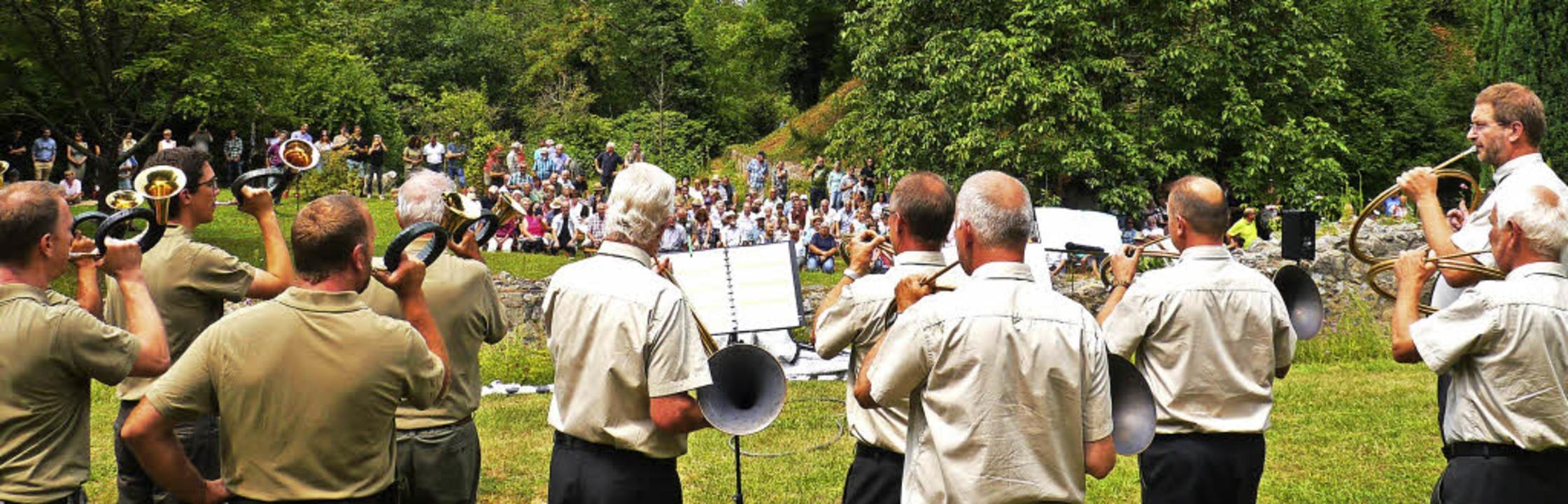 Musikgenuss und  Wissenswertes rund um...onntag beim musikalischen Jagdmorgen.   | Foto: Christel Hülter-Hassler