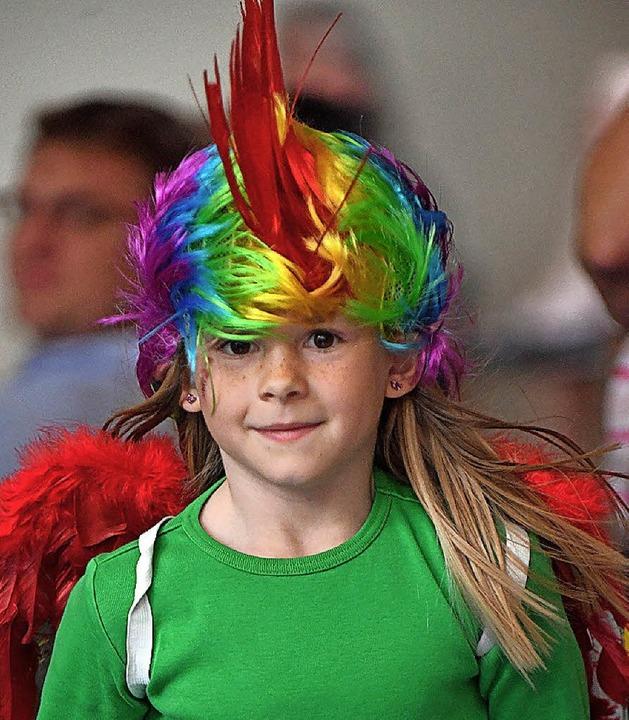 Der Papagei ist der große Unruhestifter.  | Foto: Wolfgang Scheu