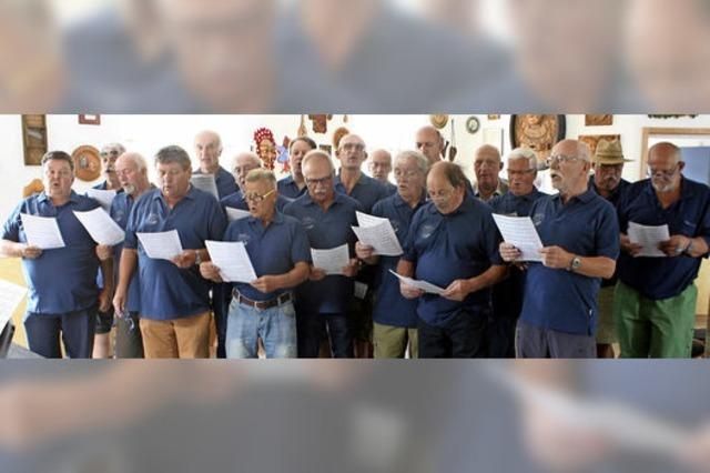 Singende Männer werden rar