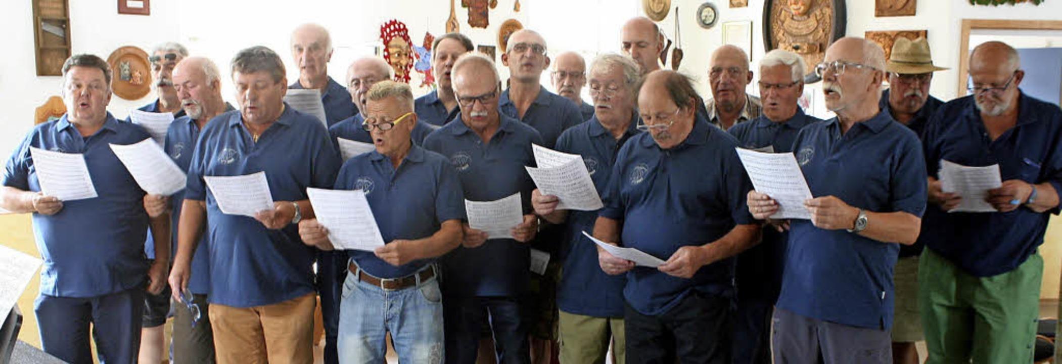 Der Ruster Männersangverein ist auf der Suche nach Sängernachwuchs.     Foto: Michael Masson