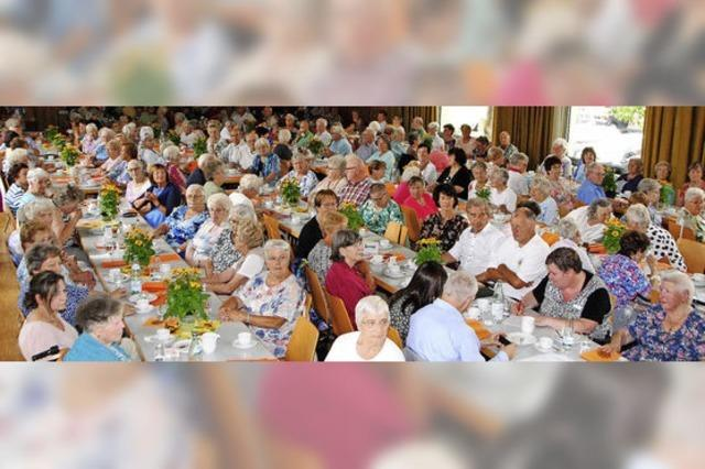 Für die Senioren beginnt der Sommer