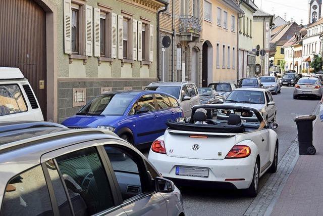 Die Zeit des wilden Parkens in Ihringen ist vorbei