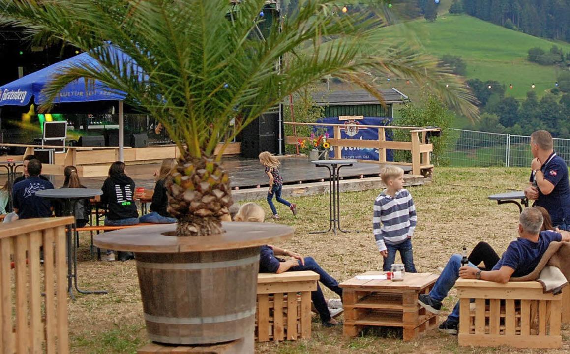 Aufwendig gestaltet war das Festgelände auf der Heubuck-Wiese.  | Foto: Louis Groß