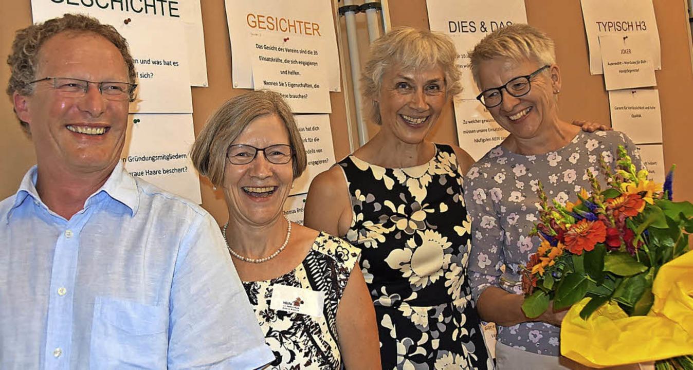 Freuten sich über ein gelungenes Gebur...raud Kannen und  Erika Grammelspacher   | Foto: Andrea Gallien