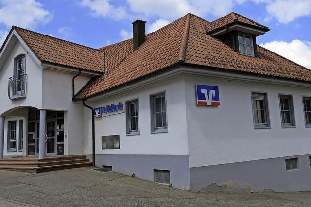 Volksbank in Schweighausen schließt