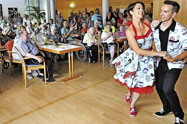 Senioren feiern Sommerfest