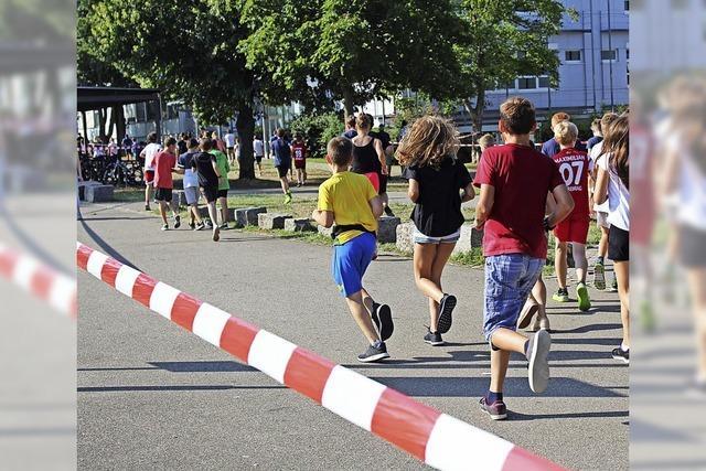 Rennen für andere Schulen und einen Kummerkasten