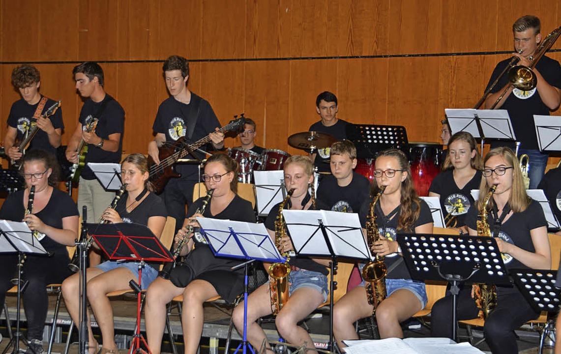 """Die Auftritte der  Big Band des Breisa...ut""""-Konzertes in der Stadthalle.    Foto: Hans-Jochen Voigt"""