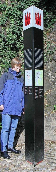 Die Infostelen in der  Burkheimer Mittelstadt  sollen aktualisiert werden.    Foto: Archiv: Herbert Trogus
