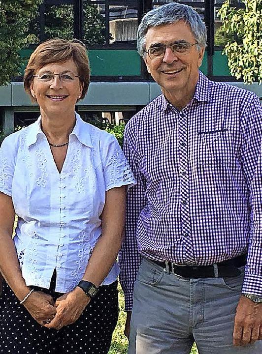 In Ruhestand: Sylvia Trimpin-Nettlau und Edgar Marx  | Foto: Schule