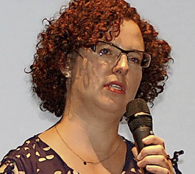 Julia Steinfort-Diedenhofen  | Foto: Barbara Puppe