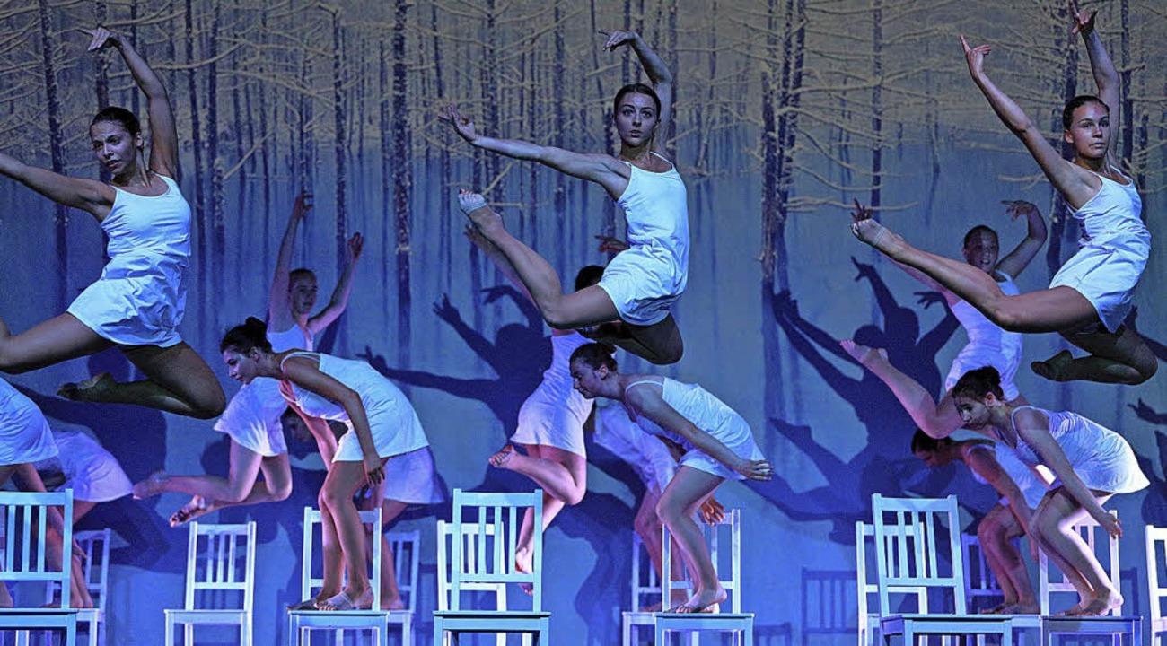 """Ein weiterer Höhepunkt des Abends: die Modern-Dance-Trilogie """"Drei"""""""