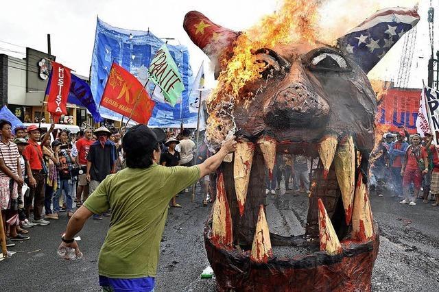 Proteste auf den Philippinen